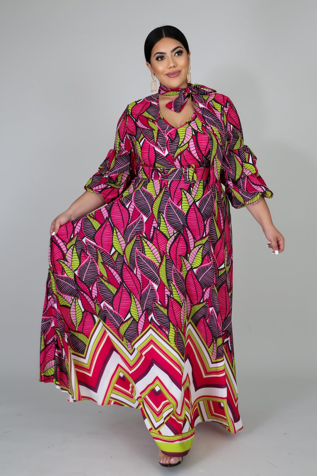 Plus Size Summer Sunday Maxi Dress