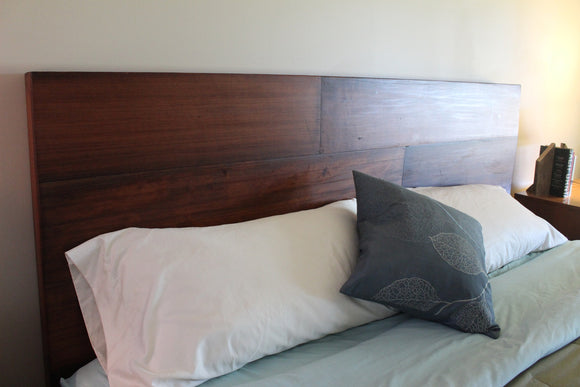 Antique Redwood Siding Headboard