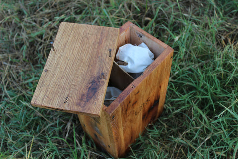 Whiskey Box Ceremony Wedding