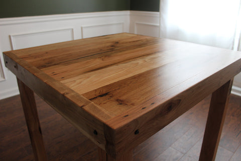 Breakfast Table | North Georgia Atlanta Wood work custom rustic