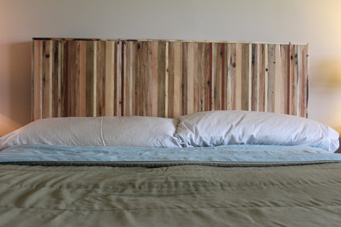 Woodshop Tour Headboard