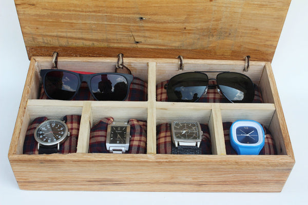 Watch and Glasses box