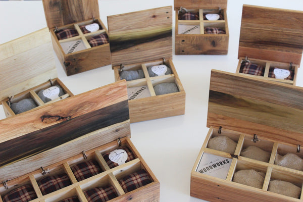 Reclaimed Wood Watch Box