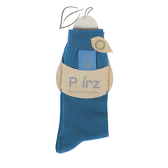 Vintage Cotton Socks in Legion Blue