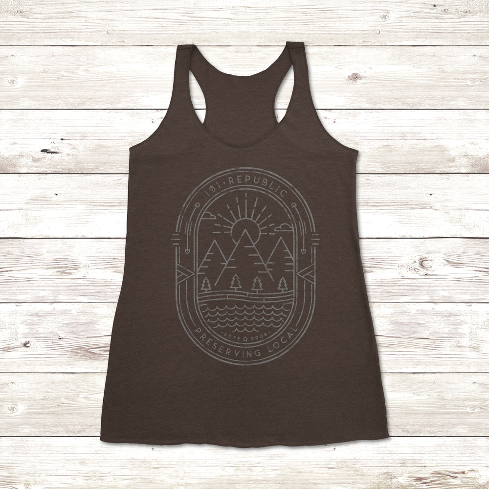 Ladies 101 Republic Badge Tank