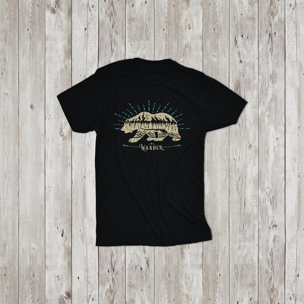 Bear Wander Youth T-Shirt