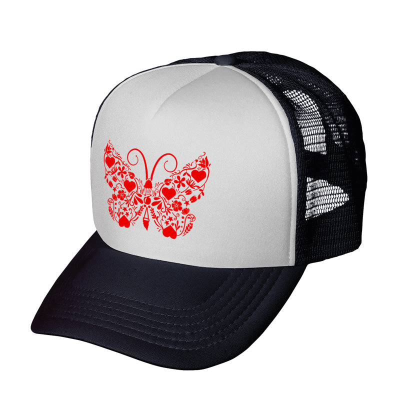 Butterfly Youth Trucker Hat