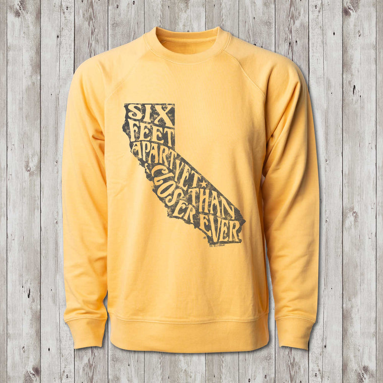 California Social Distance Crew Sweatshirt