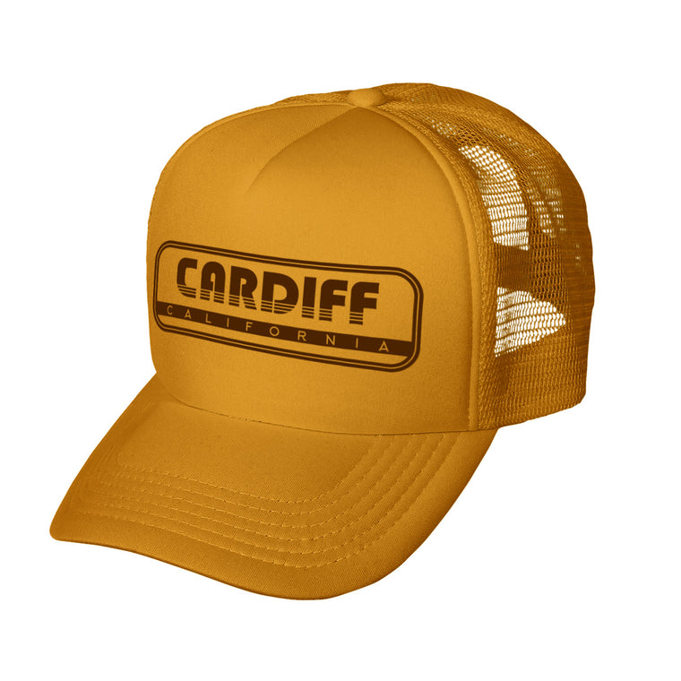 Cardiff Throwback Trucker Hat