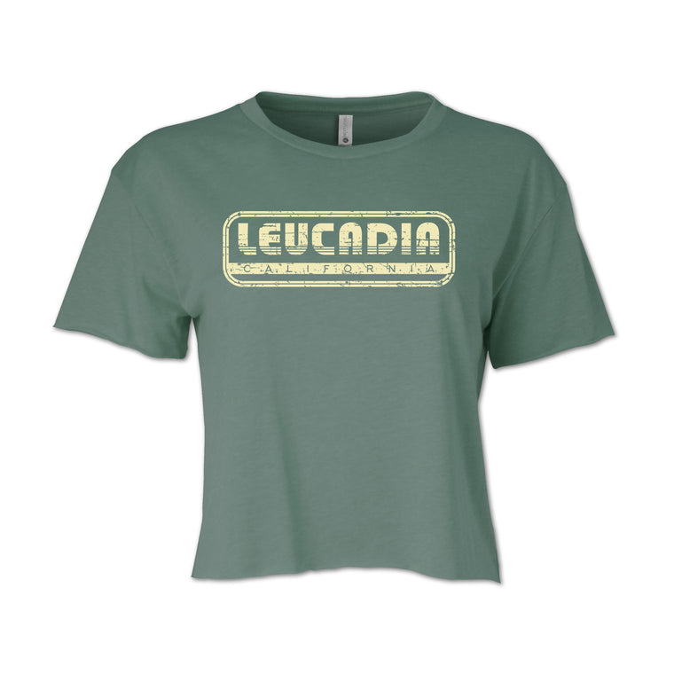 Ladies Leucadia Throwback Crop Tee