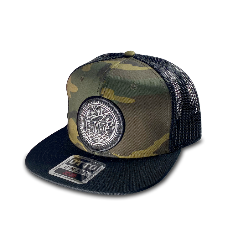 Cotton Twill ENC Badge (Encinitas) Hat