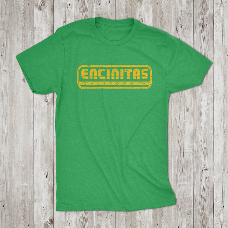 Youth Encinitas Throwback Crew Neck T-Shirt Youth
