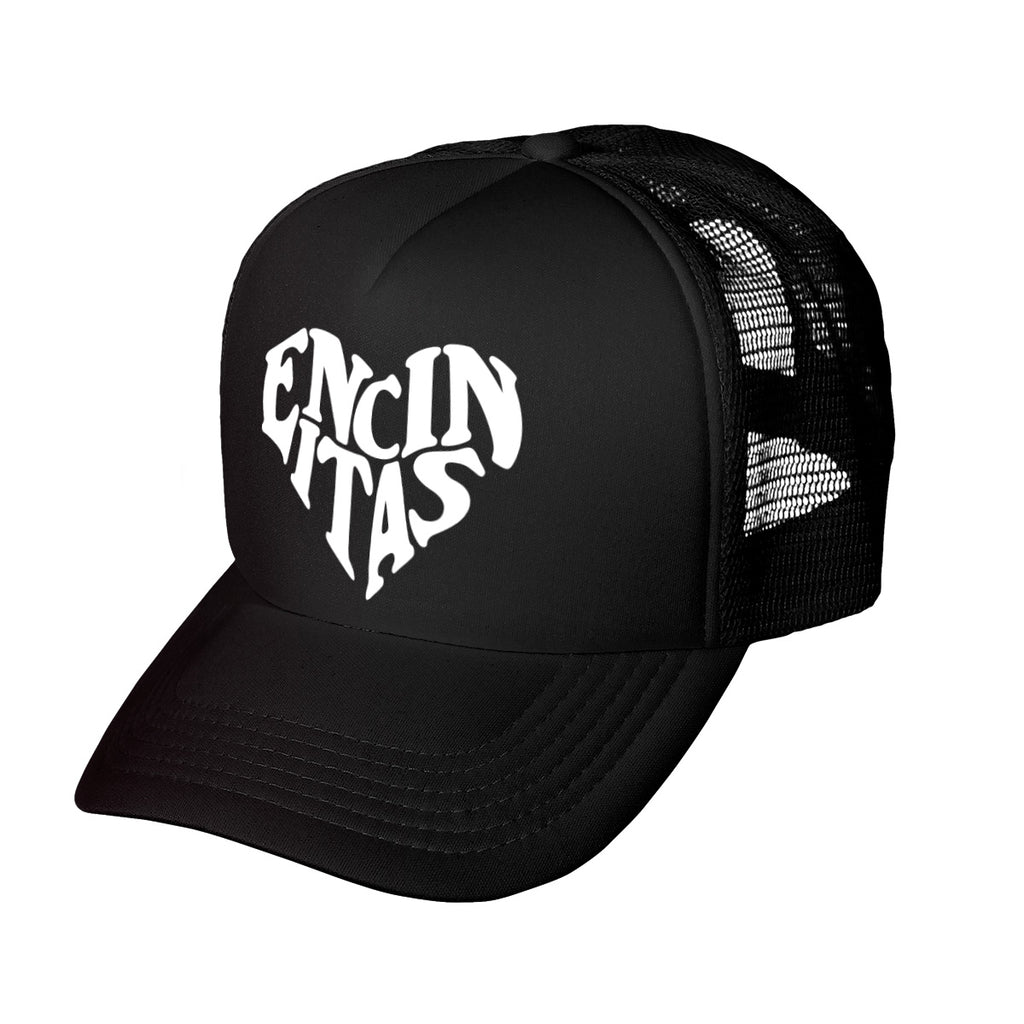 Encinitas Heart Trucker Hat