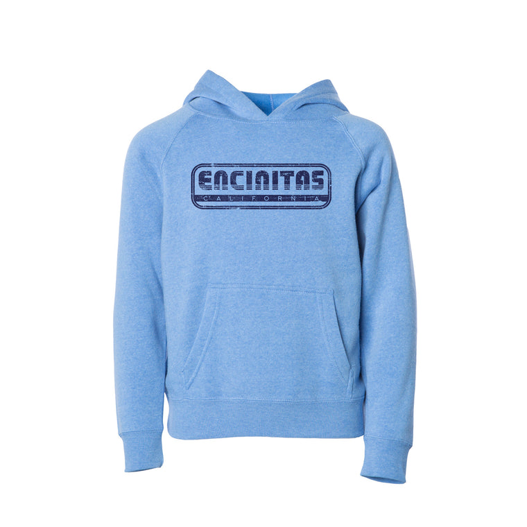 Youth Encinitas Throwback Hooded Sweatshirt