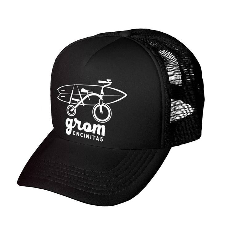 Grom Bike Surfboard Trucker Hat