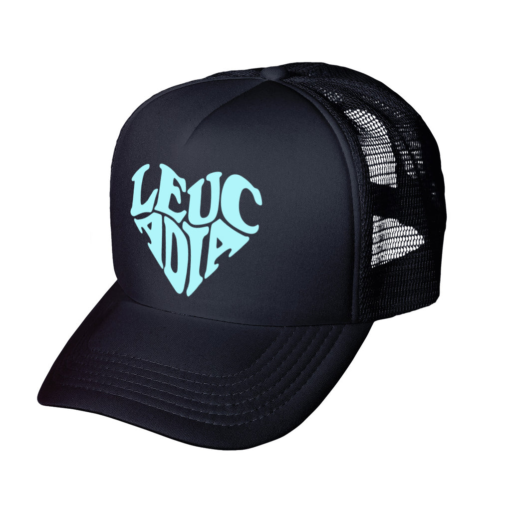 Encinitas Heart Trucker Hat - Leucadia