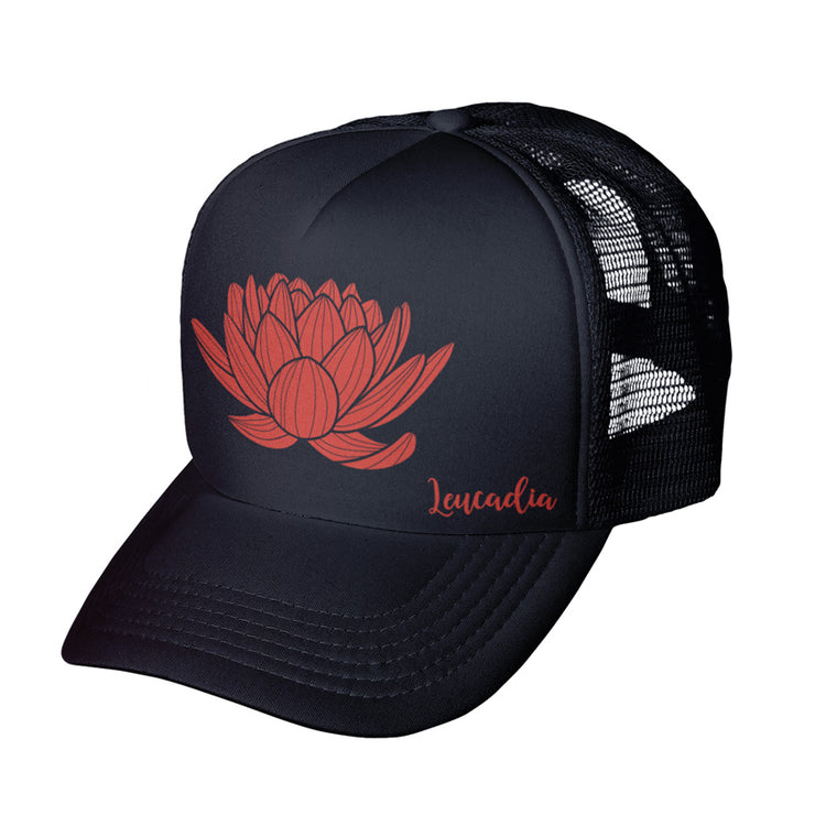 Lotus Trucker Hat