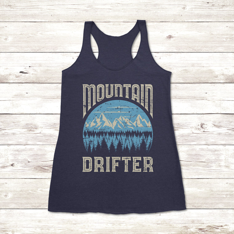 Ladies Mountain Drifter Tank Top