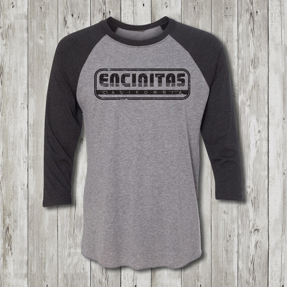 Mens Throwback 3/4 Sleeve Raglan
