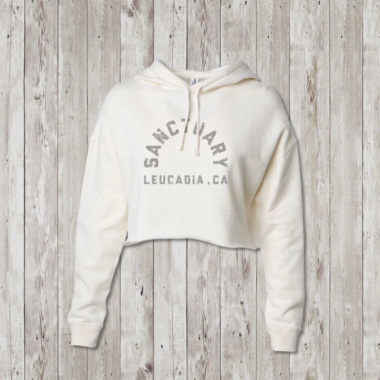 Ladies Sanctuary Leucadia Crop Sweatshirt