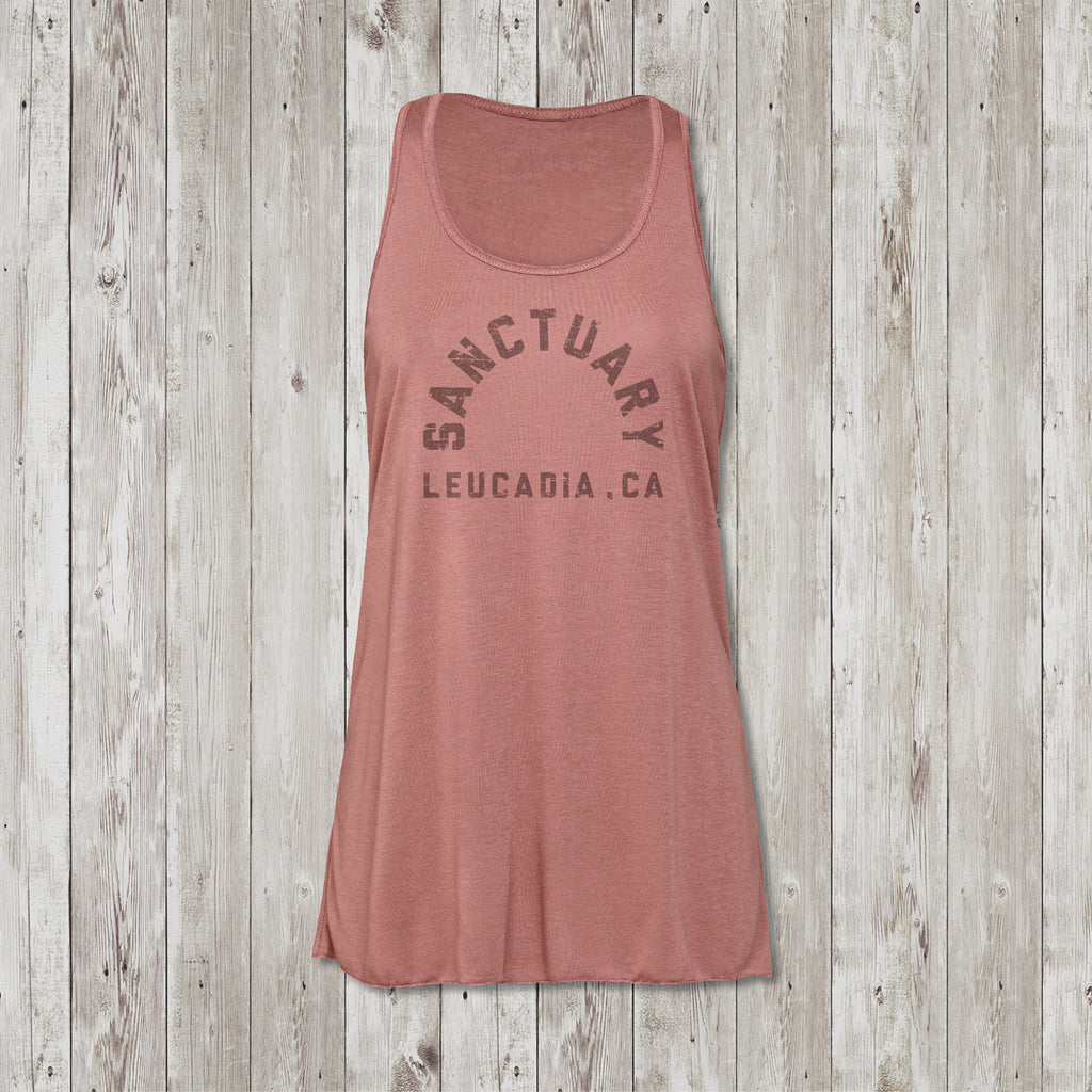 Ladies Sanctuary Leucadia Flowy Racerback Tank Top