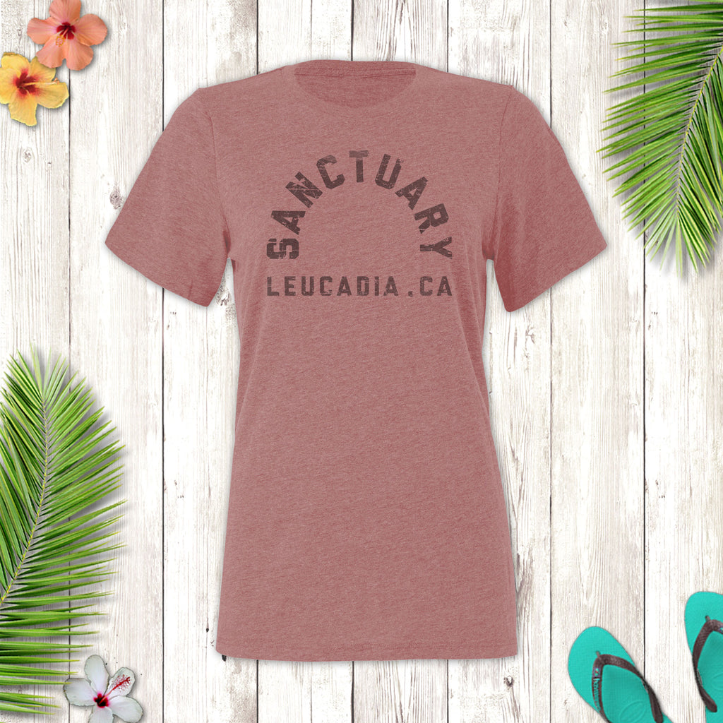 Ladies Sanctuary Leucadia Crew Neck T-Shirt