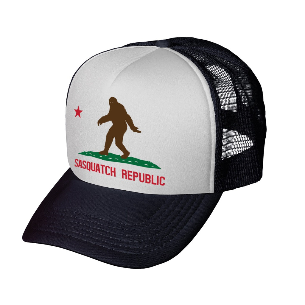Sasquatch California Republic Trucker