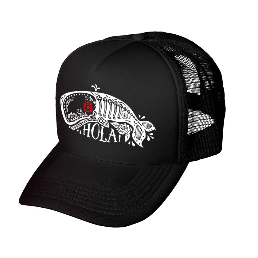 Sugar Whale Trucker Hat