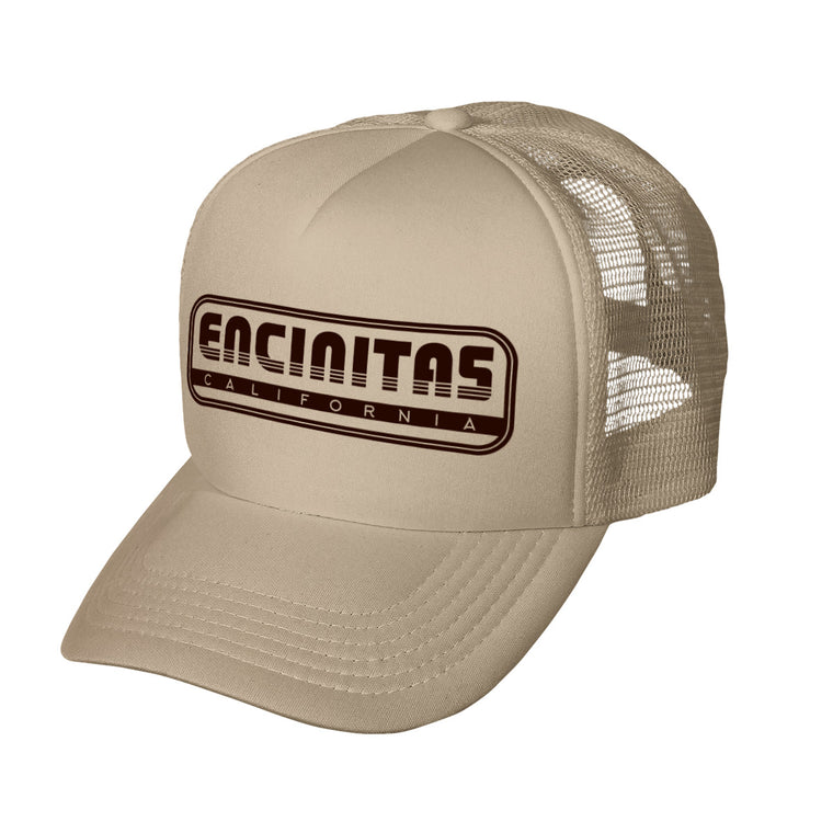 Encinitas Throwback Trucker Hat