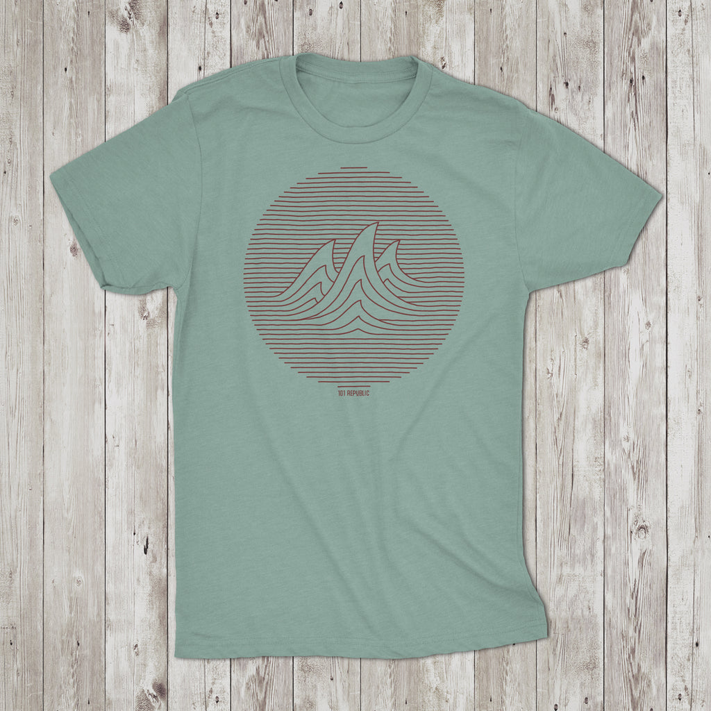 Mens Perfect Wave Crew