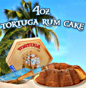 Tortuga Rum Cake (Golden Original) (4oz)