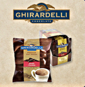 Ghirardelli Double Chocolate Hot Cocoa  1.5oz Pack of 15