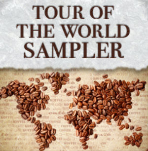 Tour of the World Gourmet Coffee Sampler