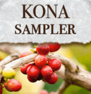Kona Gourmet Coffee Sampler