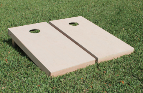 Plain Set Cornhole Boards