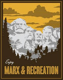 Marx and Recreation T-Shirt [LIMITED EDITION]