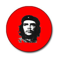 "Classic Che Guevara Black and White on Red 1"" Button"