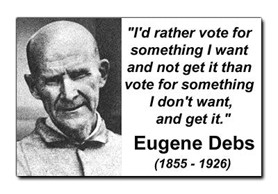 Eugene Debs Sticker
