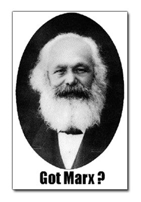 """Got Marx?"" Sticker"