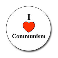 "I ♥ Communism 1"" Button"