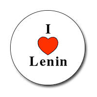 "I ♥ Lenin 1"" Button"
