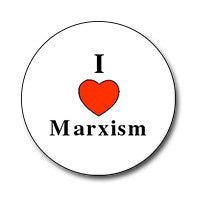 "I ♥ Marxism 1"" Button"
