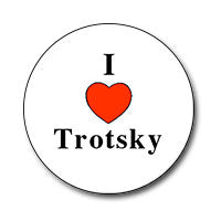 "I ♥ Trotsky 1"" Button"
