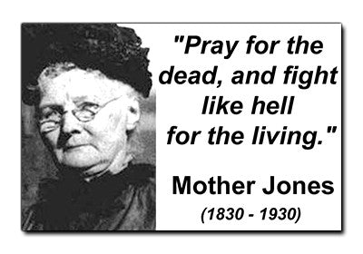 Mother Jones Sticker