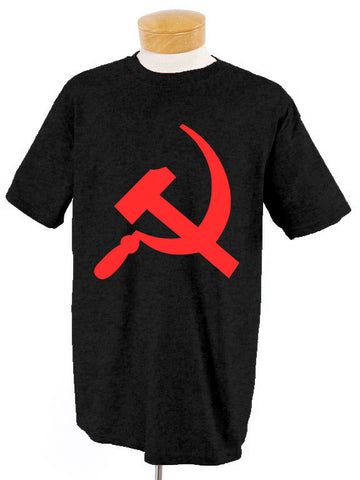 Hammer and Sickle Black T-Shirt