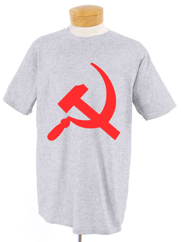 Hammer and Sickle Gray T-Shirt