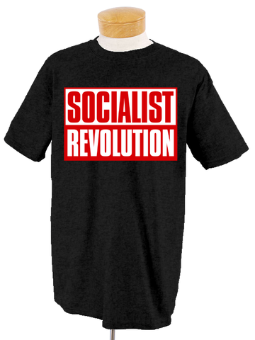 Socialist Revolution Black T-Shirt