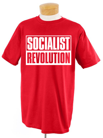Socialist Revolution Red T-Shirt