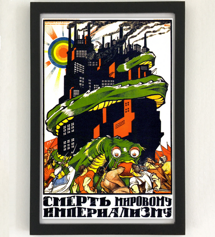 Death to World Imperialism Poster