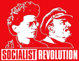 Lenin & Trotsky Socialist Revolution Sticker